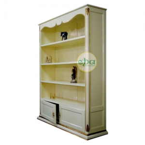 decoracao open bookcase