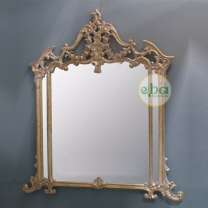 ayunda carved mirror