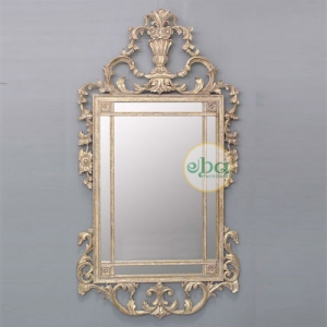 monza carved mirror