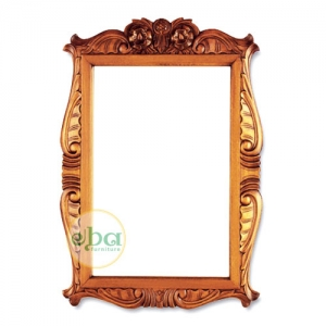 bali carved mirror
