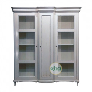 catalan 3 doors bookcase