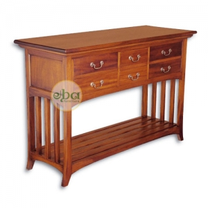 varane 6 drawers hall table