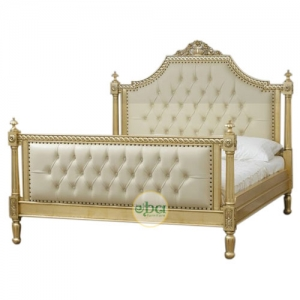 midland french carved bed
