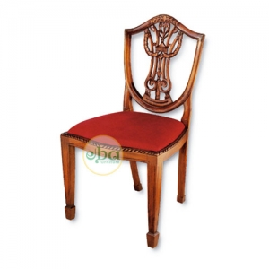 back carved chair