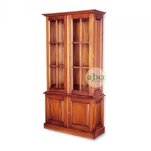 naby 2 doors bookcase