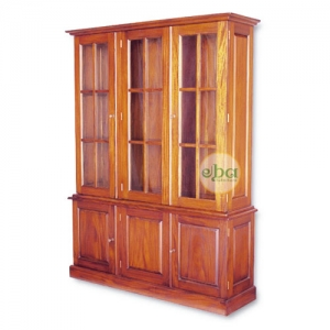 naby 3 doors bookcase