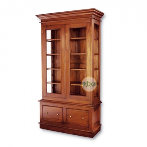 holly 2 drawers bookcase