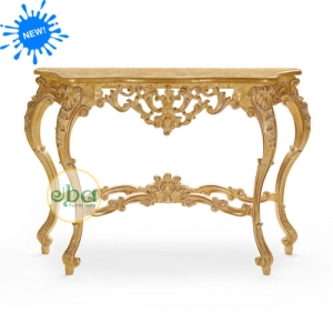Tanabe Carved Console Table
