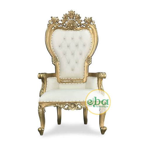 Ashley Carved Arms Chair