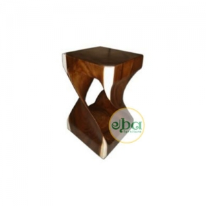 Wooden Alumina Stool Small
