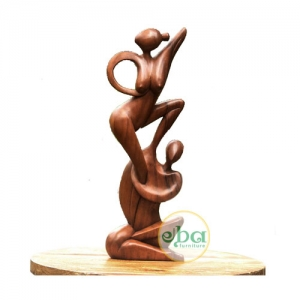 Gym Series Couple Sculpture