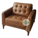 Fransisca Leather Single Chair