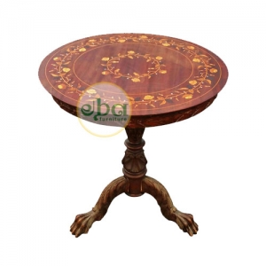 magnite inlay end table
